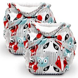 Kanga Care Lil Joey All in One Newborn Cloth Diaper, Clyde,