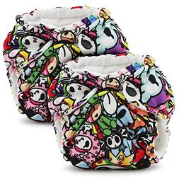 Kanga Care Lil Joey 2 Piece All In One Cloth Diaper, Tokijoy