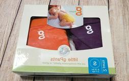 gDiapers Little gPants, 2 Pack, Small