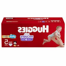Huggies Little Movers Plus Diapers Size 5, 150ct   USA Selle