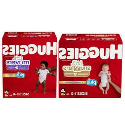 Huggies Little Snugglers & Little Movers Plus Diapers Si