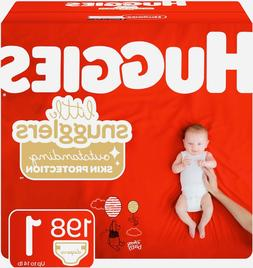 Huggies Little Snugglers Baby Diapers Size 1 198 Ct. 8-14lbs