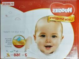 Huggies Little Snugglers Baby Diapers, Size 2 - 168 Count