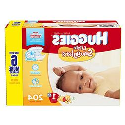 Huggies Little Snugglers Diapers - Size 1 - 204 ct
