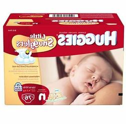 Huggies Little Snugglers Diapers for Newborn Big Pack 76 Cou