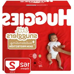 Huggies Little Snugglers Diapers, Size 2  Pack of 162