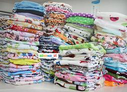 5 Baby  Boy Girl Super Soft Best Pocket Diapers Reusable Cle