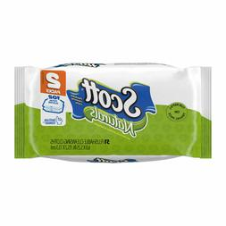 Lot of 2 Scott Naturals Flushable Cleansing Cloths Refill/Tr
