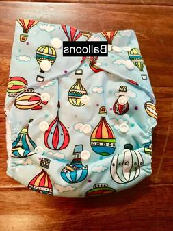Lot of 3 OS Pocket Cloth Diapers With Insert, Chose Your Des