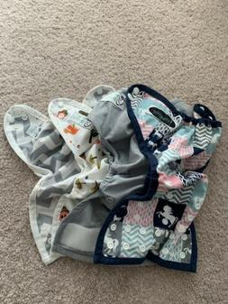 **LOT OF 4** NICKIS AND IMAGINE DIAPER COVERS- NEWBORN CLOTH