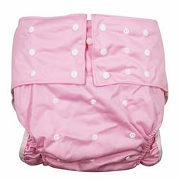 LukLoy Women's Adults Cloth Diapers for Incontinence Care Pr