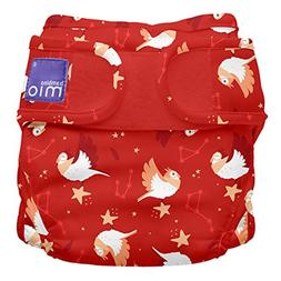 Bambino Mio, Miosoft Cloth Diaper Cover, Starry Night, Size