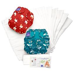 Bambino Mio, Miosoft Cloth Diaper Set, Dream Traveler B, Siz