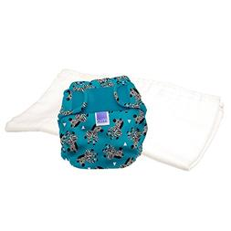 miosoft cloth diaper trial pack zebra crossing