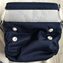 Thirsties Modern Cloth Diaper Navy Small? Adjustable New See