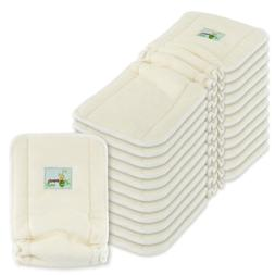 Naturally Natures 4 Layer Cloth Diaper - Inserts - with Guss