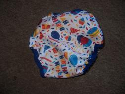 New all in two cloth diaper cover 2.0 Imagine Boy  birthday