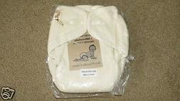 NEW Ecobaby Organics cloth diaper / cover - one size - soft