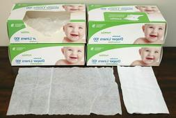 NEW Bumkins FLUSHABLE DIAPER LINERS Lot 3 Boxes 100 Pack 310
