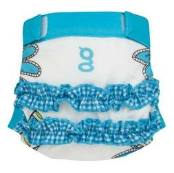 NEW GDIAPERS GIRLY TWIRLY GPANTS & LINER SMALL 6-14 LBS 0-12