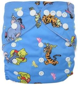 NEW MODERN CLOTH DIAPER MCN DIAPERS POTTY REUSABLE Winnie th