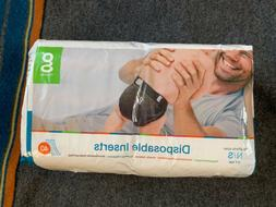 New NIP Gdiapers Disposable Inserts 40 Pack Newborn Small N/