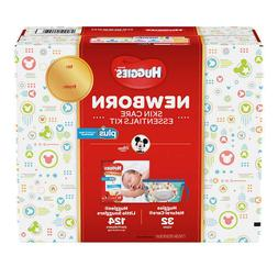 NEW Huggies Plus Diapers Newborn Skin Care Essentials Kit 12