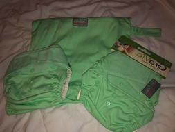 New Grovia Special Edition 2015 Mint Hybrid Cloth Diaper + W