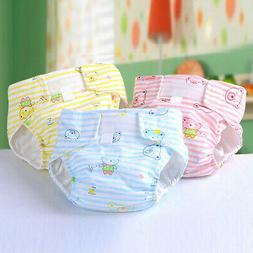 Newborn Baby Adjustable Washable Reusable Soft Cotton Nappy
