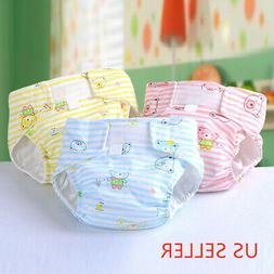 Newborn Baby Washable Reusable Soft Cotton Breathable Nappy