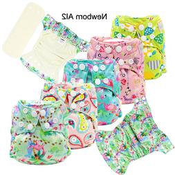 MABOJ Newborn Cloth Diapers Colorful and Washable Cloth Napp