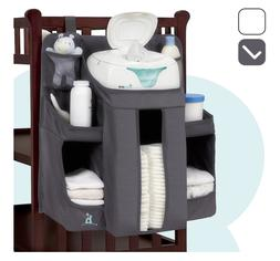 hiccapop Nursery Organizer and Baby Diaper Caddy | Hanging D