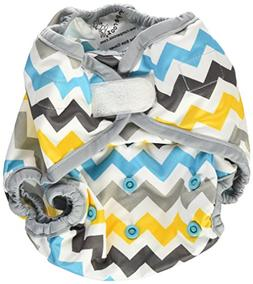 Rumparooz One Size Cloth Diaper Cover Aplix, Charlie