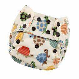 Blueberry One Size Simplex All in One Cloth Diapers, Made in