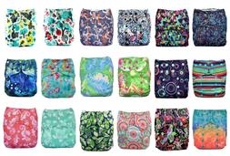 Lalabye Baby One Size Bamboo Cloth Diapers - Limited Edition