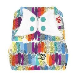 one size cloth diaper cover prints snap