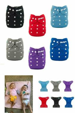 One Size Fits All Adjustable Cloth Diapers Washable Reusable