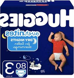 overnites diapers size 3 80 ct overnight