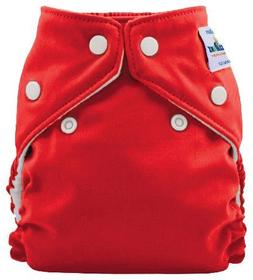FuzziBunz Perfect Size Pocket Cloth Diaper - Snap - Candy Ap