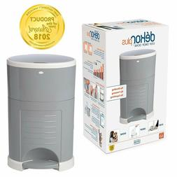 Plus Hands-Free Diaper Pail Easiest to Use Great for Cloth D