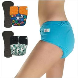 Pocket Cloth Diaper for Incontinence Special Needs Briefs wi
