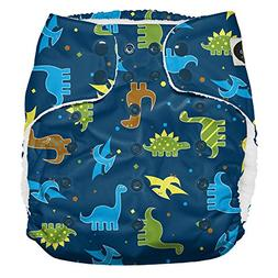 Imagine Baby Products XL Pocket Diapers, Snap, Rawr