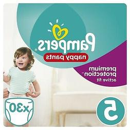 Pampers Premium Protection Active Fit Nappy Pants Size 5  -