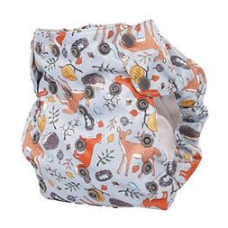 No Prep Organic Cloth Diaper – Smart Bottoms Dream Diaper