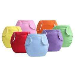 Reusable Baby Diaper Cover Adjustable Washable Nappies Wrap