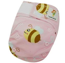 Kawaii Baby Newborn Reusable Cloth Diaper Pure & Natural 6 -