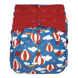 Reusable Diaper Cover: Waterproof Shell for Baby Prefold Clo