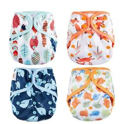 Reusable Diapers Covers One Size Cloth Waterproof Breathable
