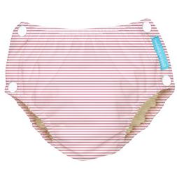 Charlie Banana Reusable Easy Snaps Swim Diaper, Pencil Strip