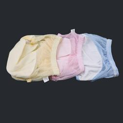 Reusable Newborn Baby Nappies Mesh Diapers Inserts Washable